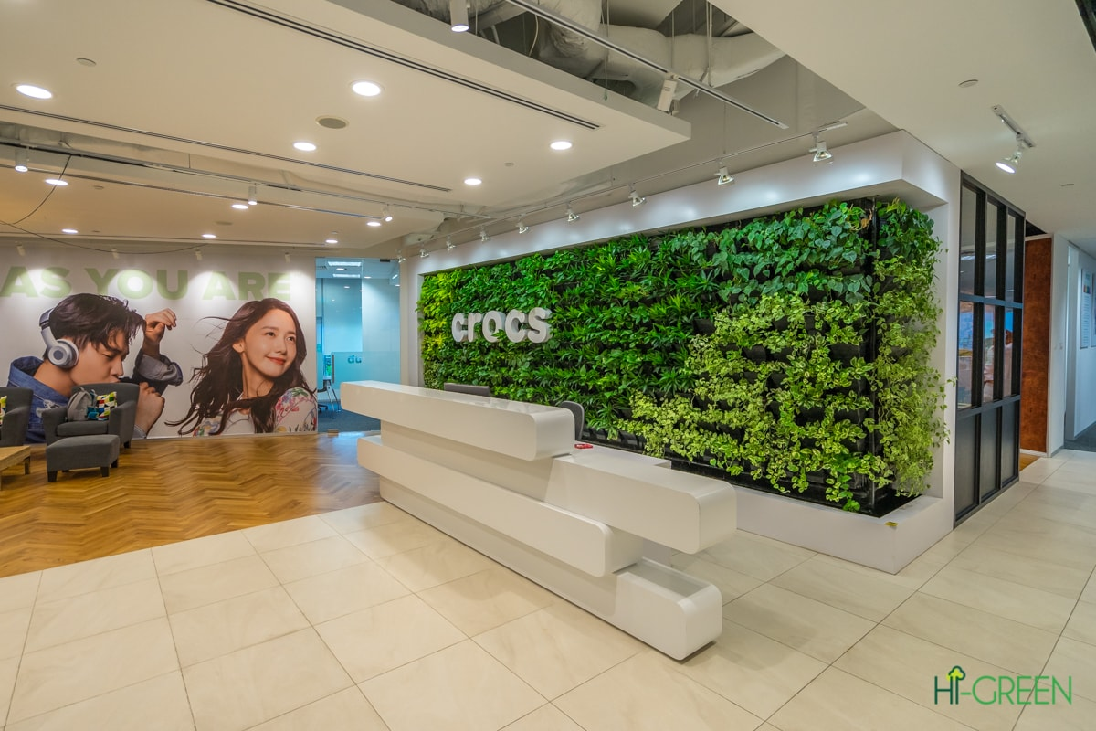CROCS Vertical Green Wall