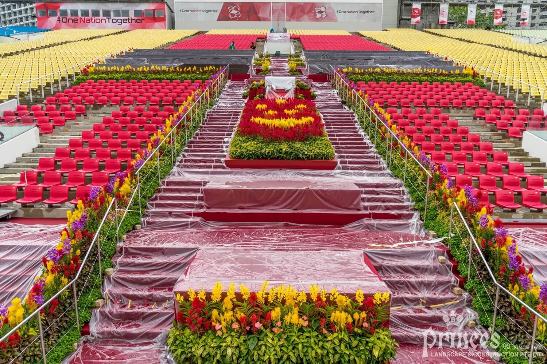 Event plant display