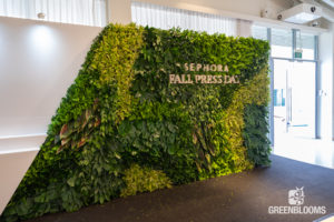 Artificial Green Wall Plant Display by Prince's