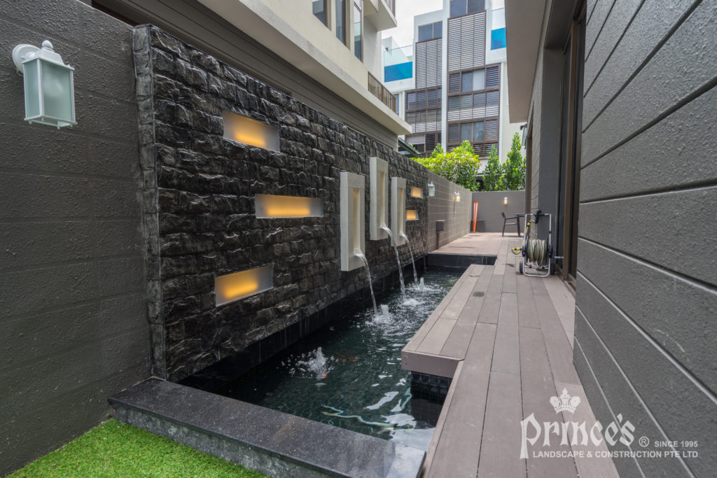 Feature Wall Design & Build for Residential Property