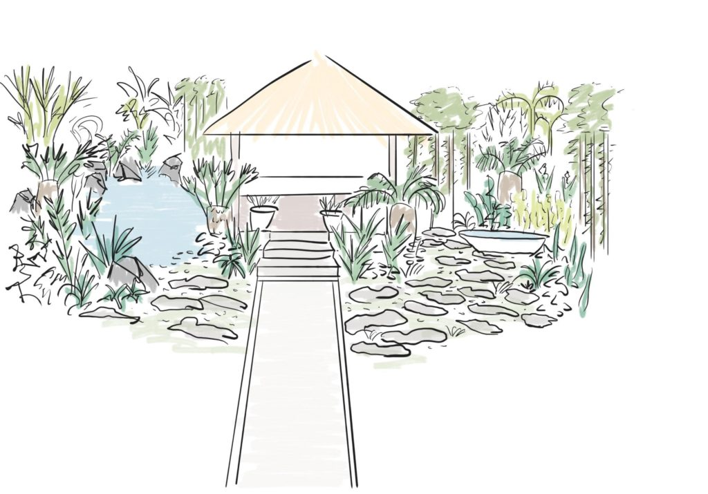 Balinese | Organic Layout Perspective
