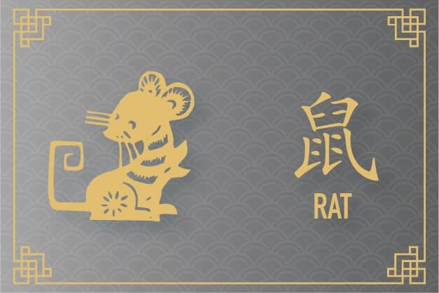 Rat Zodiac - Plants of Fortune