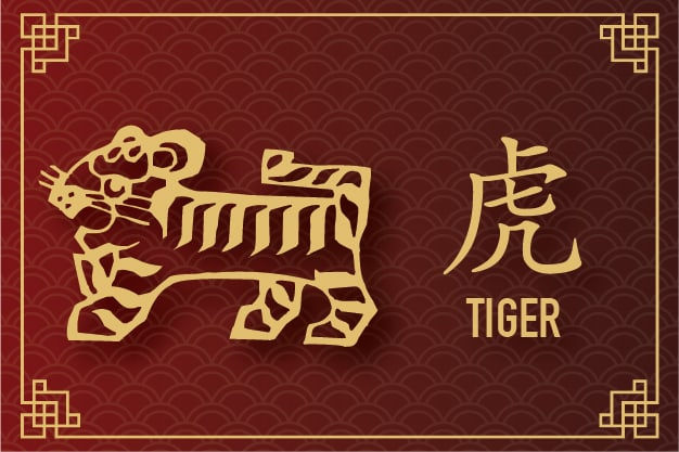 Plants of Fortune - Tiger Zodiac